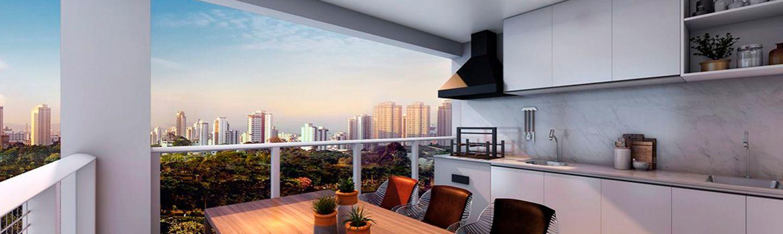 Apartamentos com Varanda Gourmet
