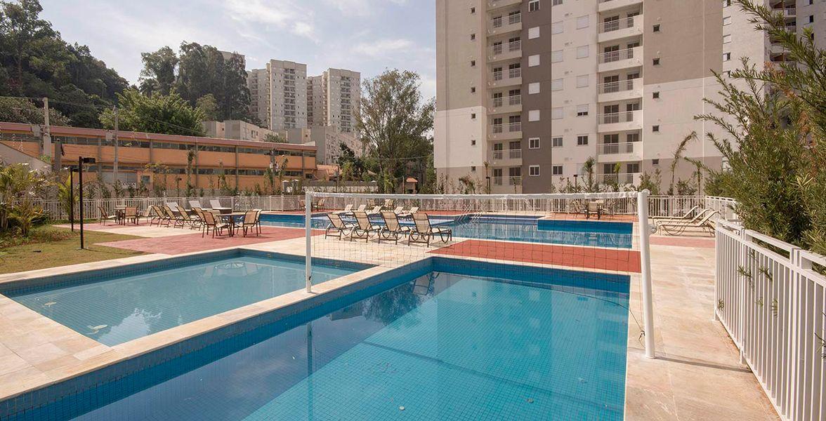 PISCINA DE BIRIBOL, ou vôlei de piscina, como é popularmente chamado.