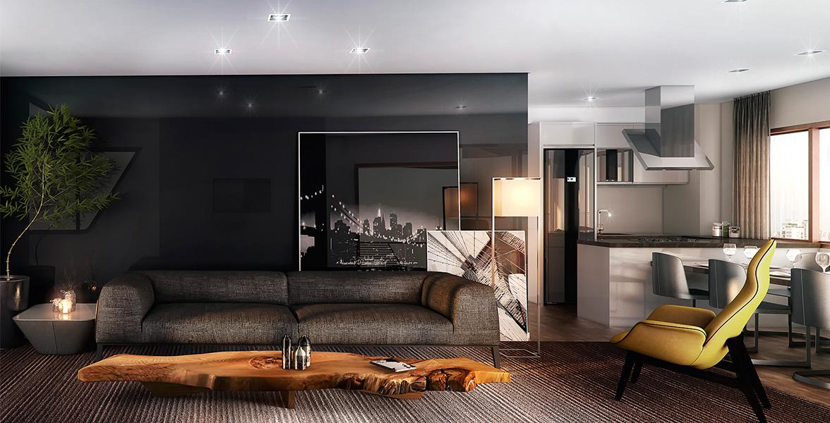APTO de 94 m², que é o resultado da junção de 2 unidades, tornando-se um apartamento ainda mais exclusivo.