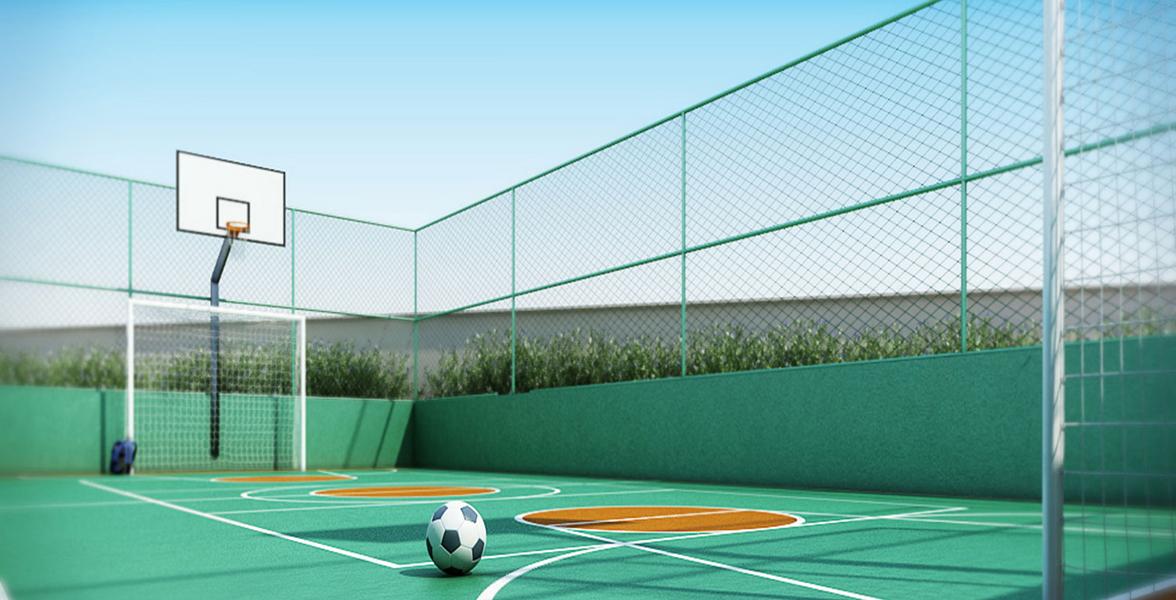QUADRA para você acompanhar de perto os primeiros gols de seu filho.