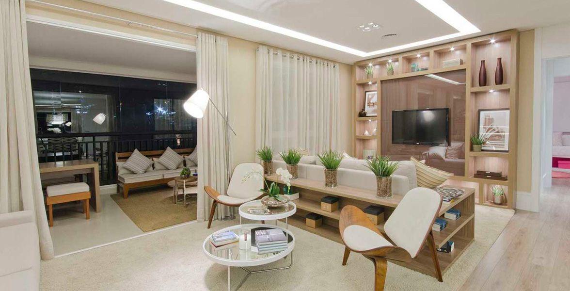 DECORADO do apto de 128 m² do Alta Vista Premium
