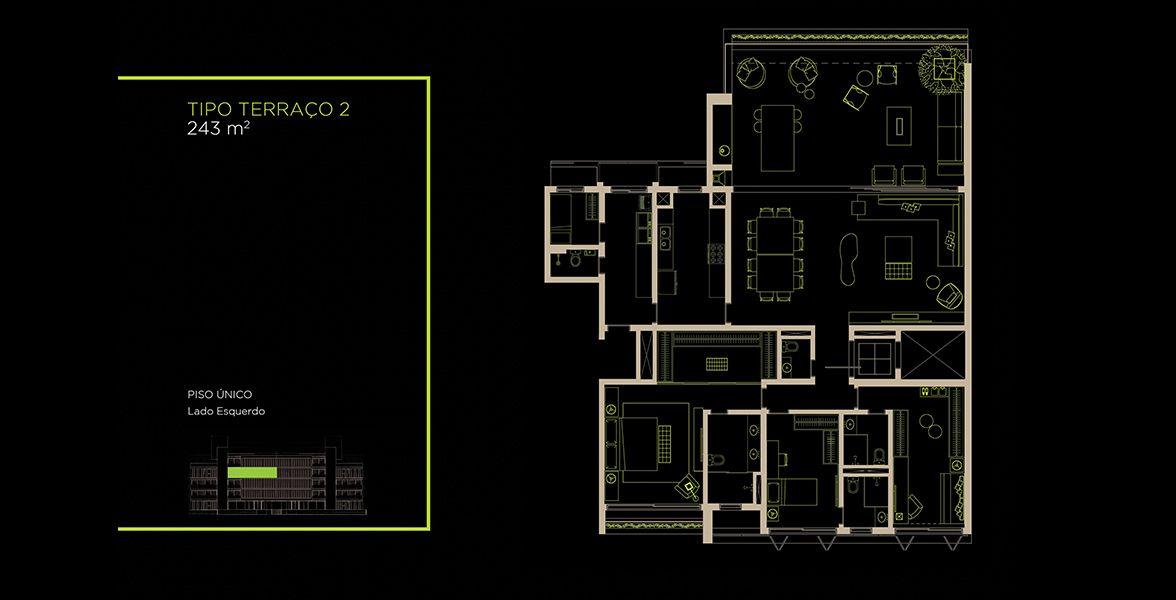 Planta do Arruda 168. floorplan