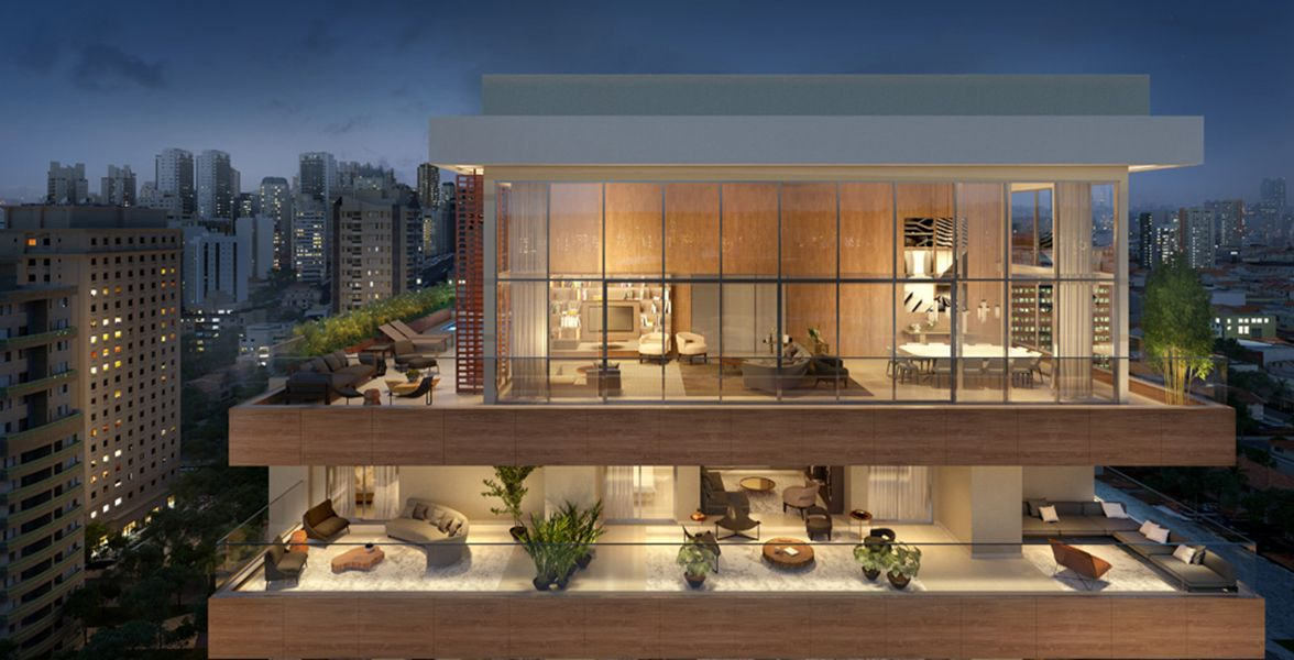 COBERTURA DUPLEX de 591 m²