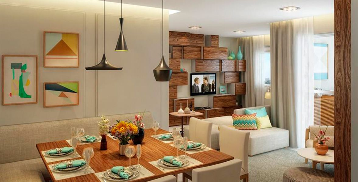 apto do Living Welcome Taquaral