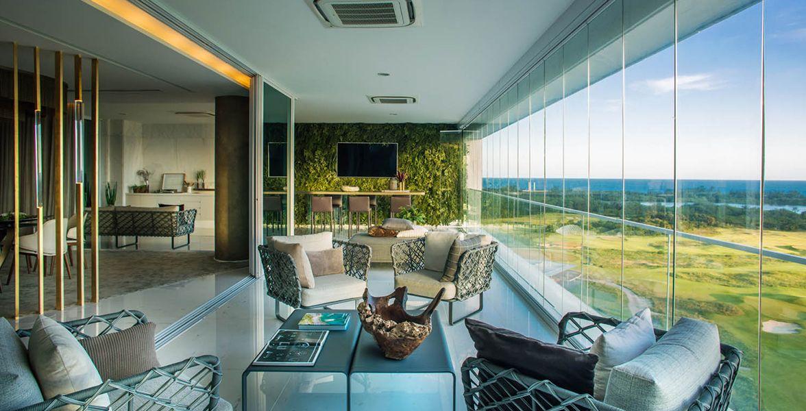 SALA VARANDA do Riserva Golf Vista Mare Residenziale
