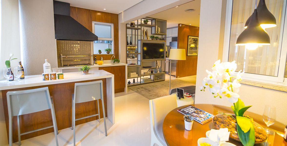 TERRAÇO do apto decorado de 58 m²