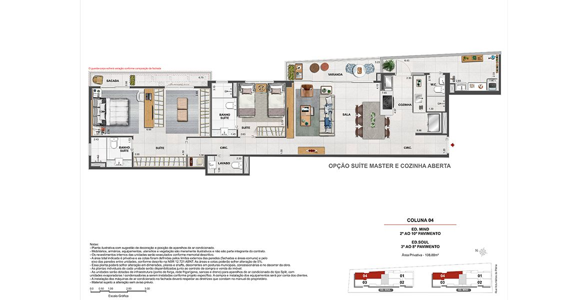 Planta do Volp 40. floorplan