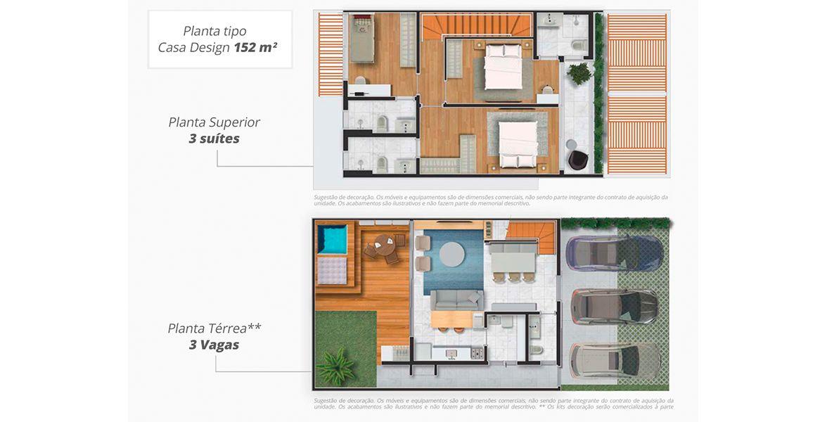 Planta do Alpha House I. floorplan