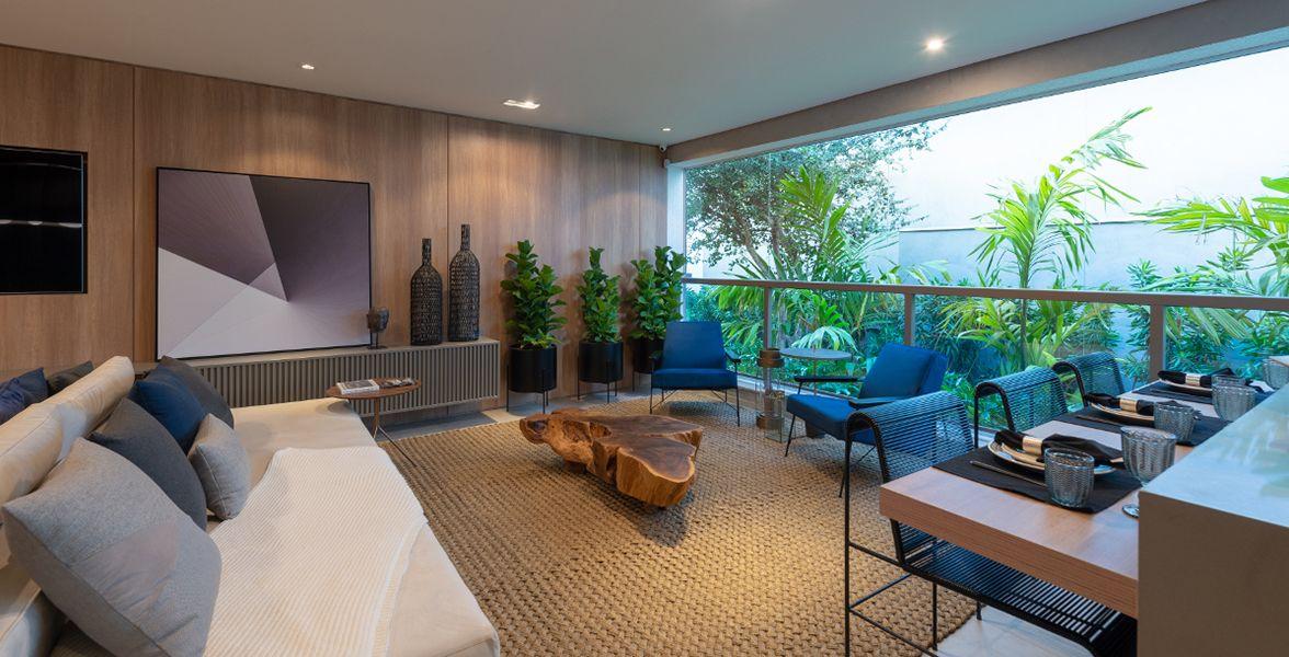 TERRAÇO GOURMET do apto de 111 m².