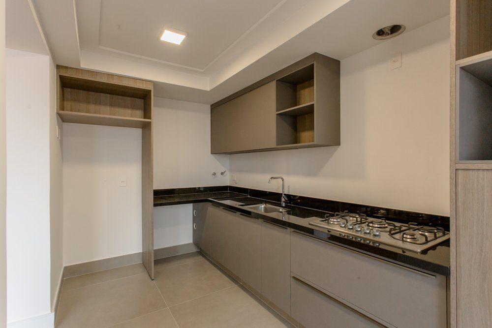 SALAS do apto de 97 m². (Apartamento 124, 12º andar).