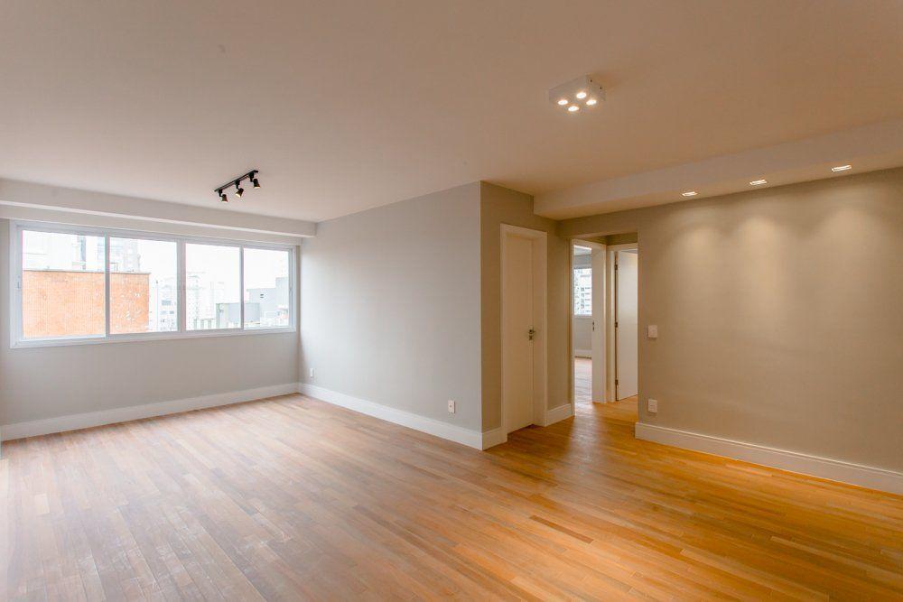 LIVING do apto de 97 m². (Apartamento 124, 12º andar) do Edifício Itapagés