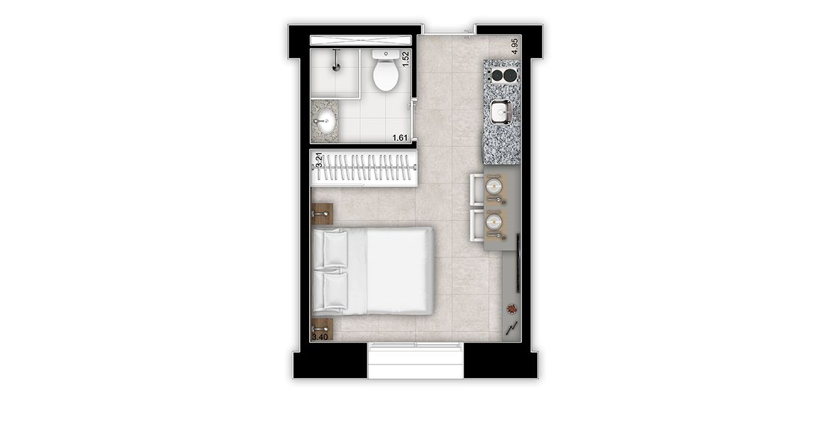 Planta do Jacques Pilon Residence. floorplan