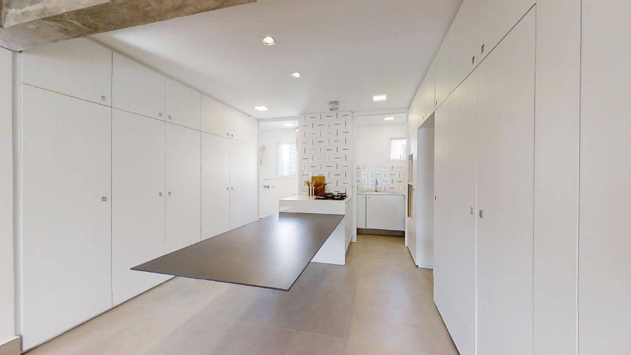 LIVING do apto de 113 m² no 3º andar.