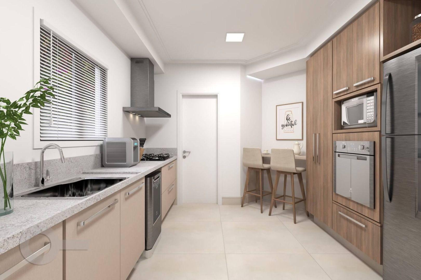LIVING do apto de 169 m² no 2º andar.
