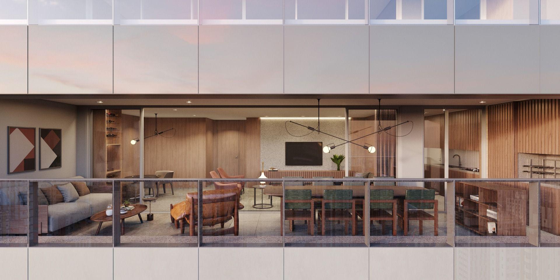 TERRAÇO do apto de 154 m².