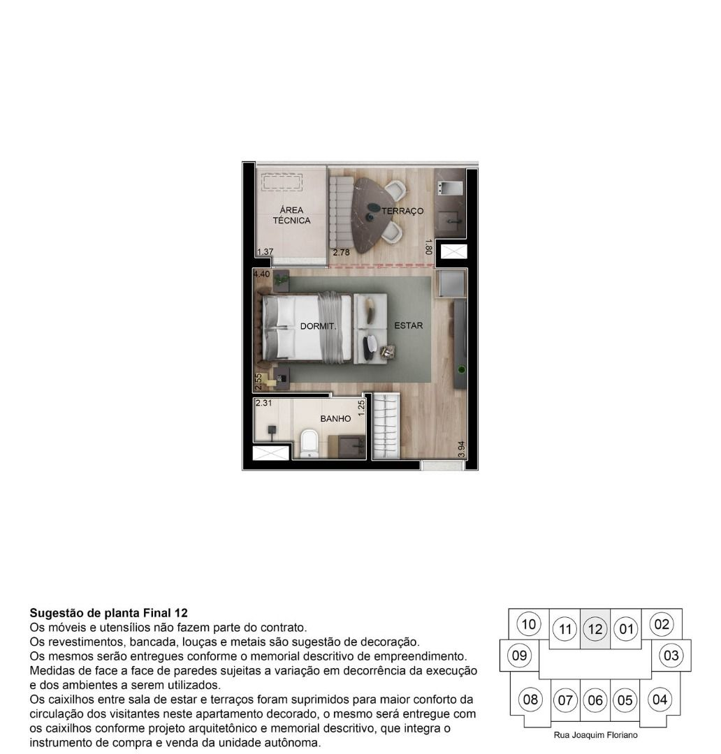 Planta do DSG Itaim. floorplan