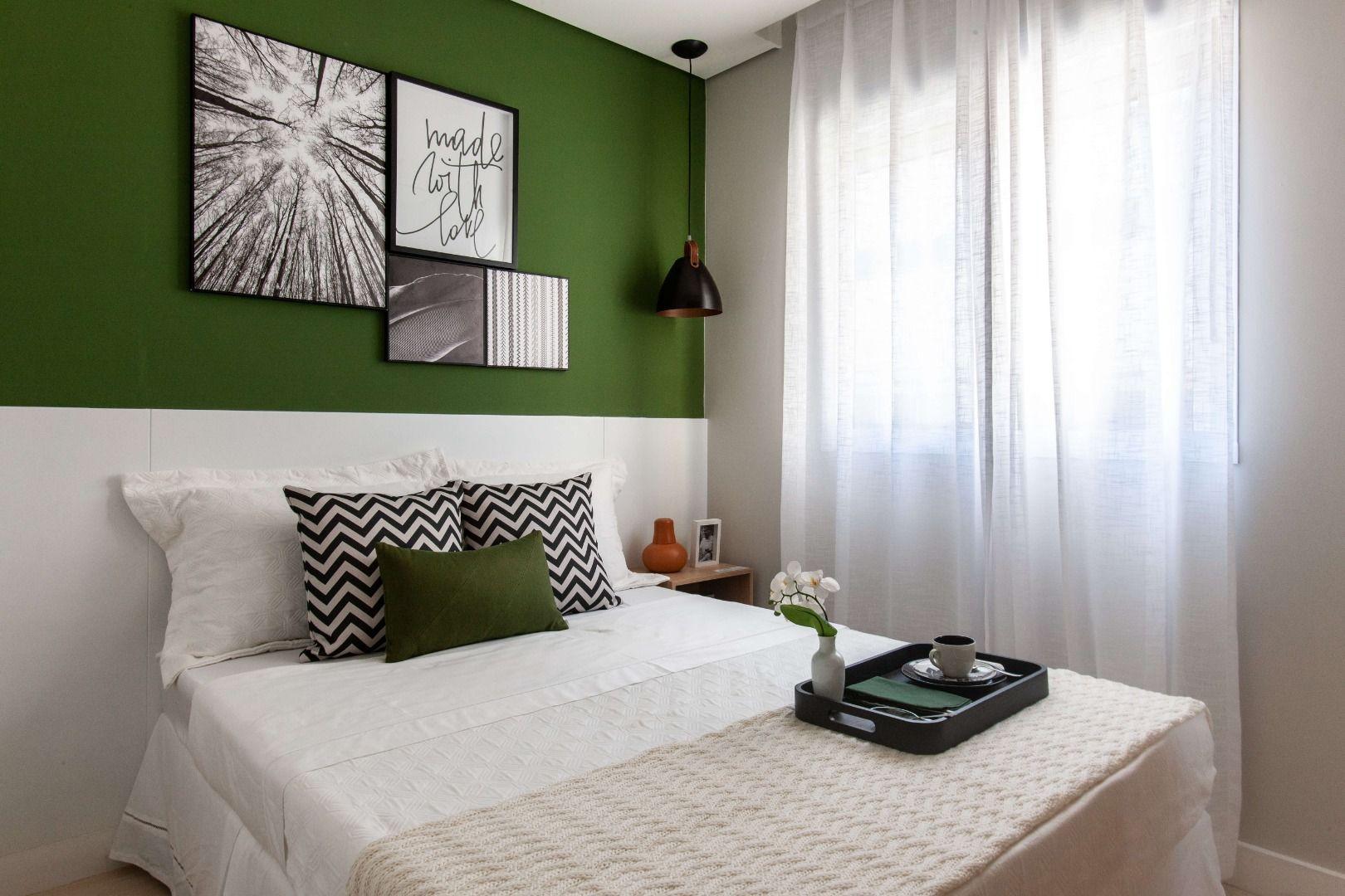 QUARTO - Imagens do apartamento decorado.