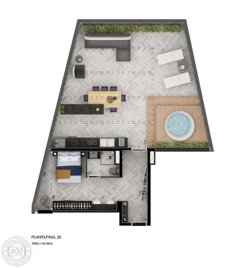 49 M² - STUDIO.