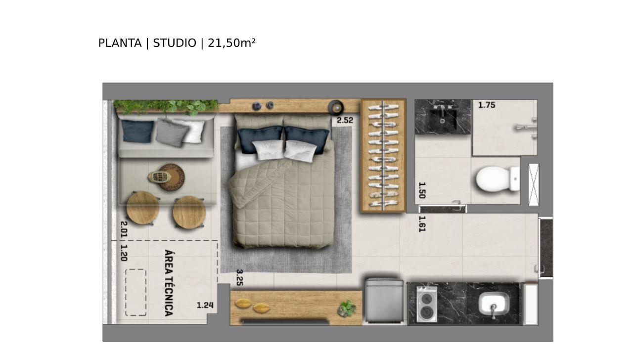 21 M² - STUDIO.