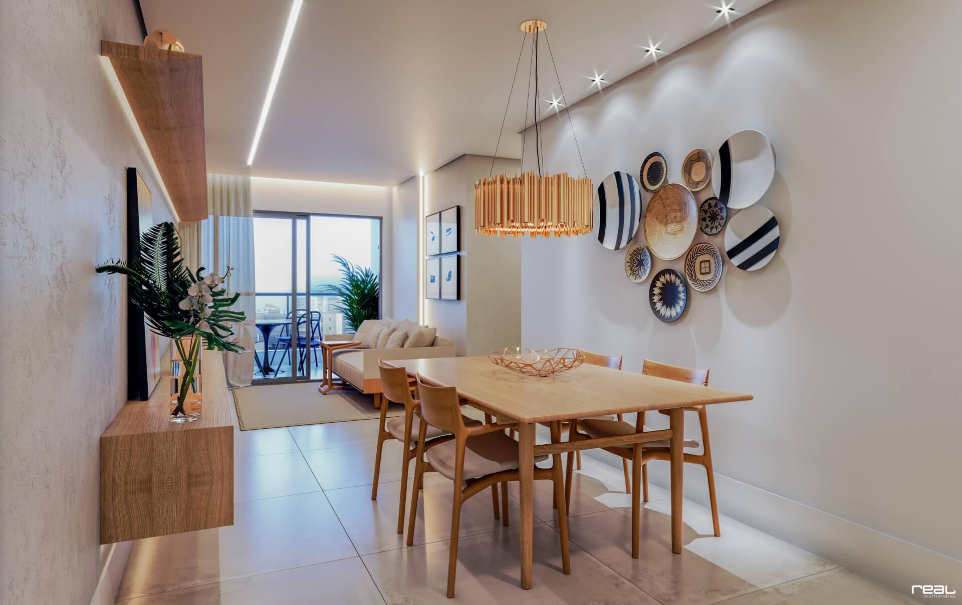 apto do Shamarine Special High Tech Apartments