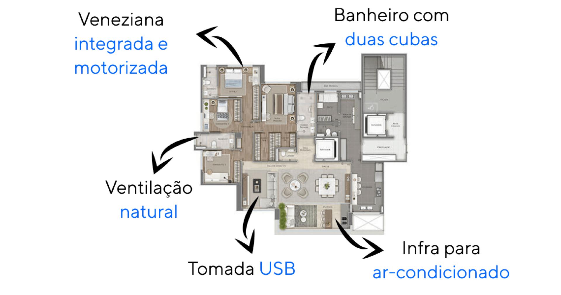 Planta do Duo. floorplan