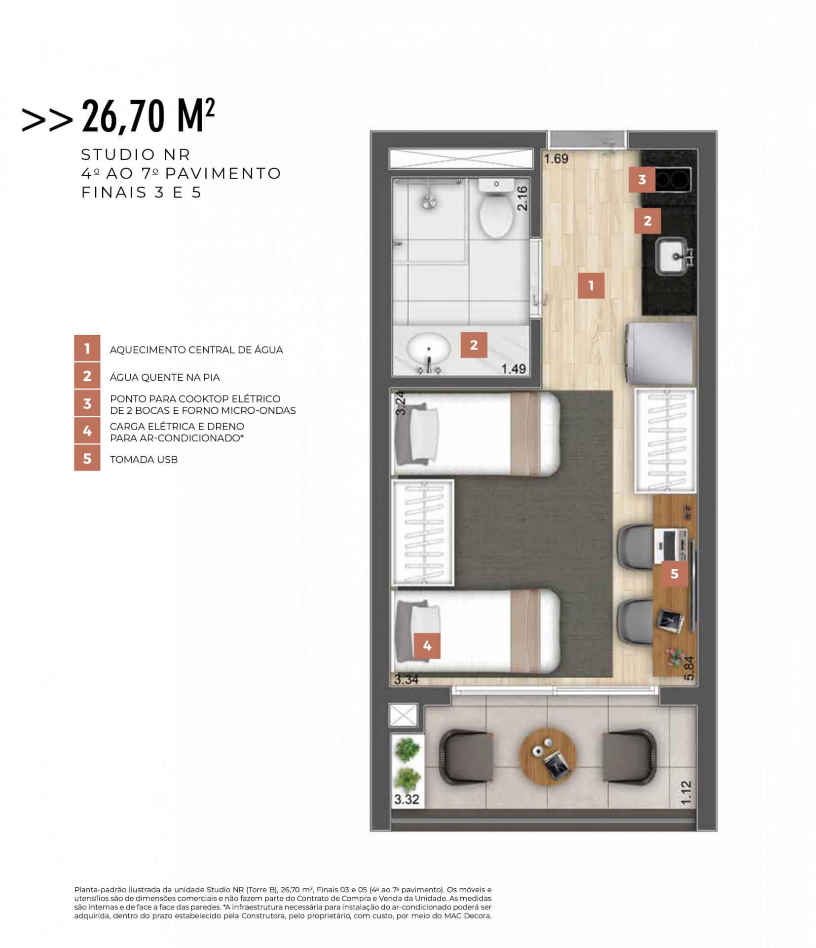 26 M² - STUDIO.